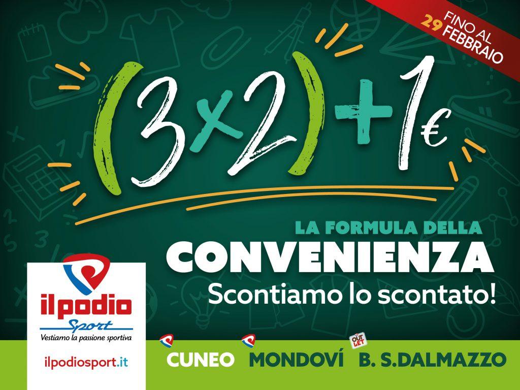 Il 3×2+1€ anche a Madonna dell'Olmo!